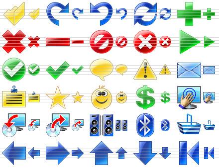 Program Toolbar Icons